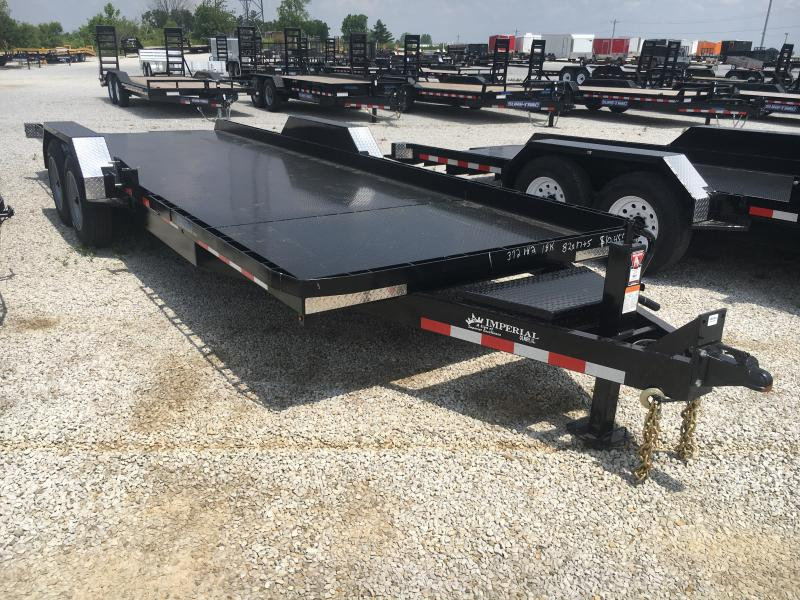 2019 Imperial 22FT Splitfloor Wideboy Equipment Trailer