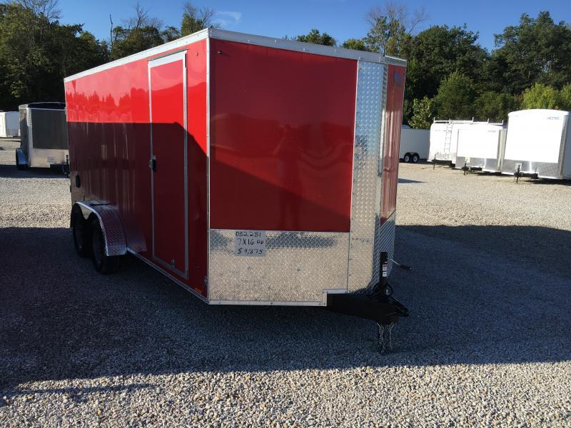 2020 Cargo Express 7X16 Cargo / Enclosed Trailer