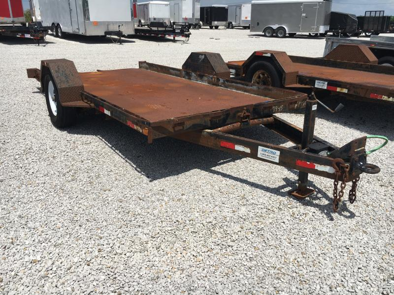 USED 2000 Imperial 14' Equipment Trailer