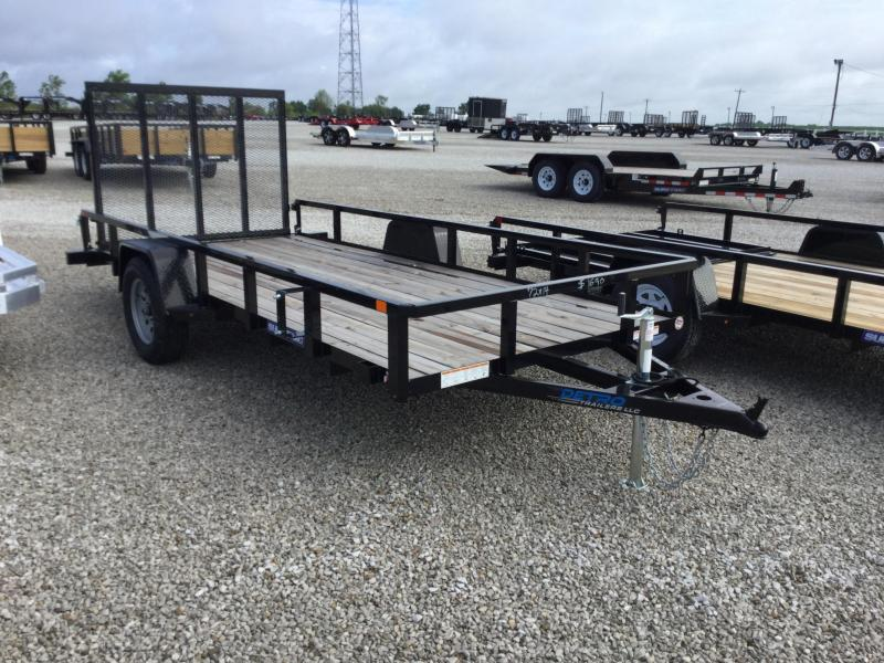 2017 Sure-Trac ST7214TA-B-030 Utility Trailer