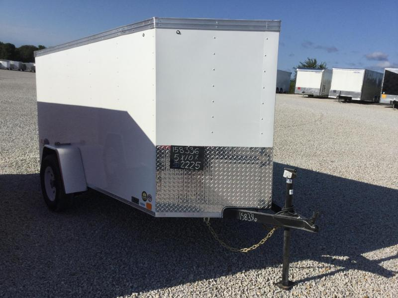 2018 United Trailers 5X10 Enclosed Cargo Trailer