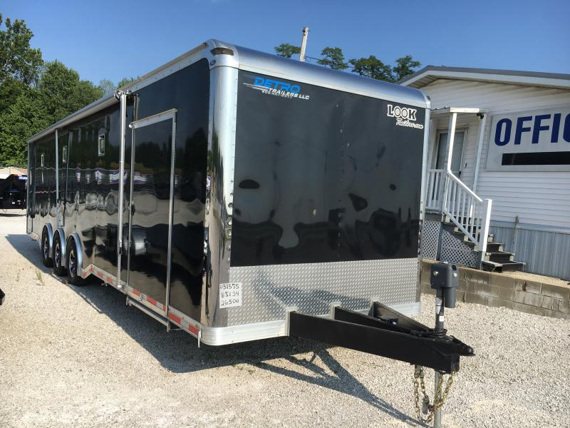 2017 Look Trailers 8.5X34 Car / Racing Trailer