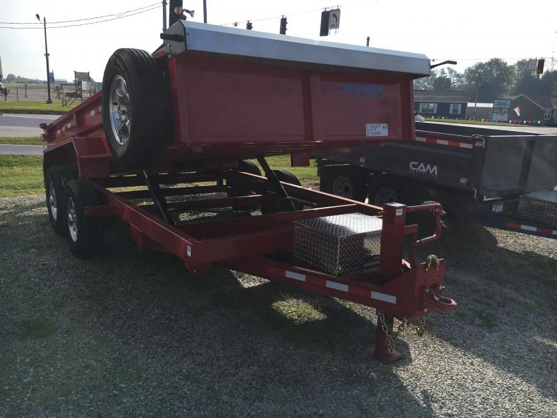 2019 Cam Superline 82X14 DUAL TELESCOPIC DUMP Dump Trailer