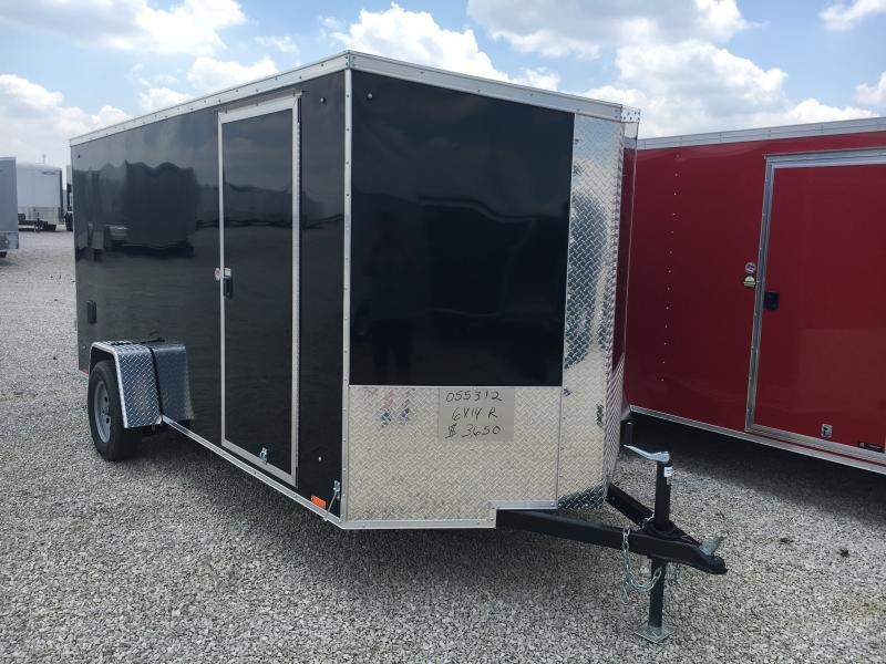 2020 Cargo Express 6x14 Ramp Door Enclosed Trailer