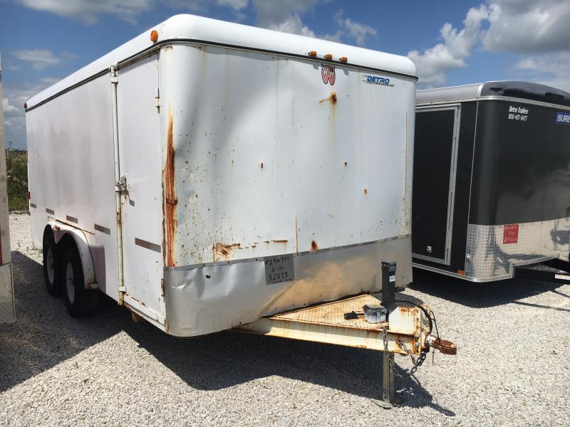 Used 2007 8X16 Enclosed Cargo Trailer