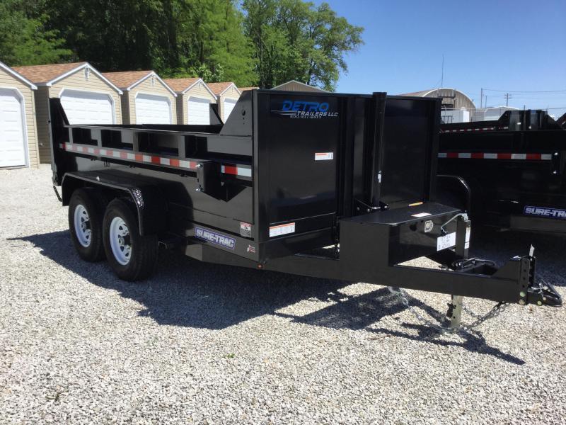 2017 Sure-Trac ST8212TLDDPL1-B-140 Dump Trailer