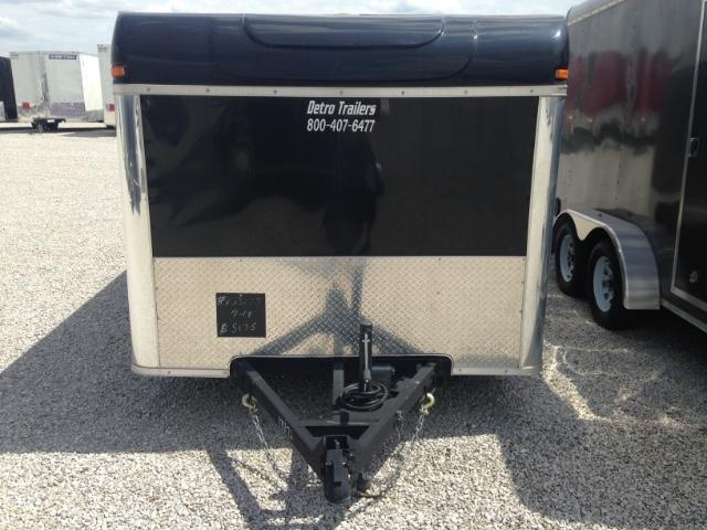 2015 United Trailers 7 x 14 Enclosed Motorcycle Trailer