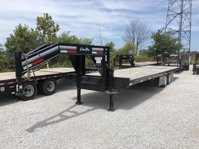 Used 2015 CornPro Trailers 22+10 Equipment Trailer