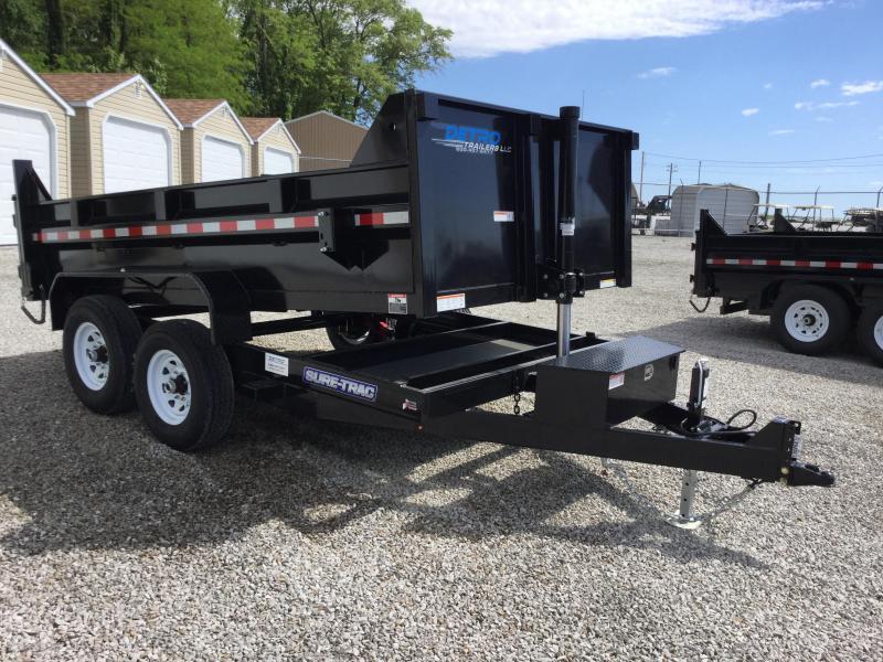 2017 Sure-Trac ST8212TLDD-B-120 Dump Trailer