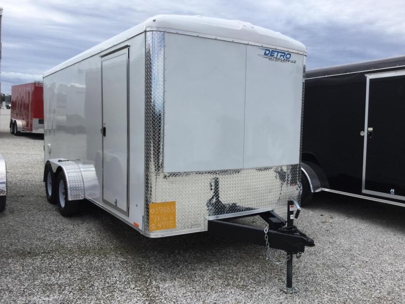 2018 Cargo Express XLR7X16TE2 Enclosed Cargo Trailer