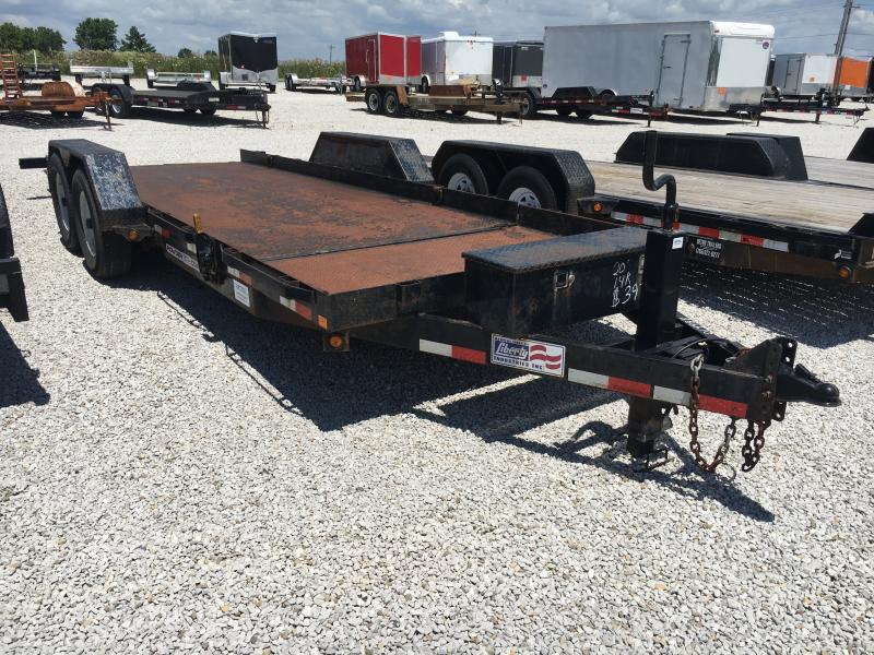 USED 2014 Liberty 16+4 Equipment Trailer