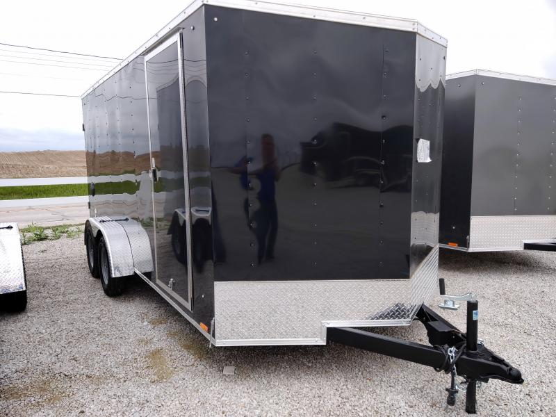 2021 Cargo Express 7X16 Enclosed DRD TA Trailer