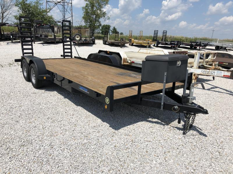 USED 2013 Gatormade Trailers 18' Equipment Trailer