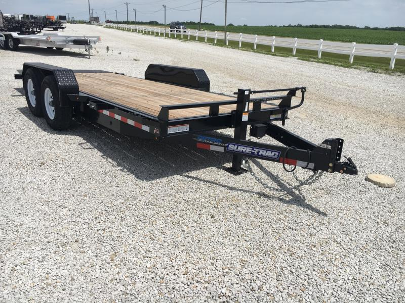 2019 Sure-Trac 7 x 18 Tilt Bed Equipment  14k