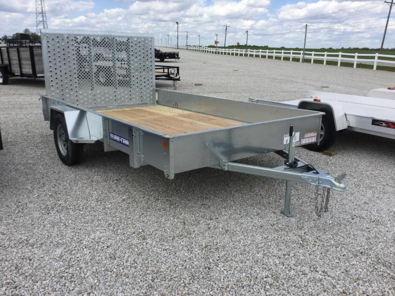 2017 Sure-Trac ST8212-GAL Utility Trailer