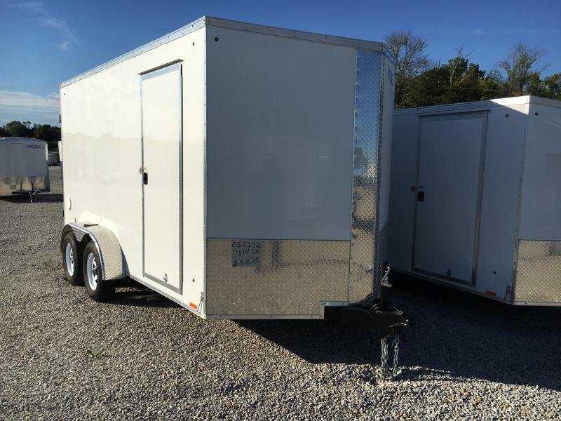 2020 Cargo Express 7X14 Cargo / Enclosed Trailer