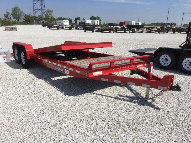 2017 Sure-Trac ST82184FWTE-B-140 Equipment Trailer