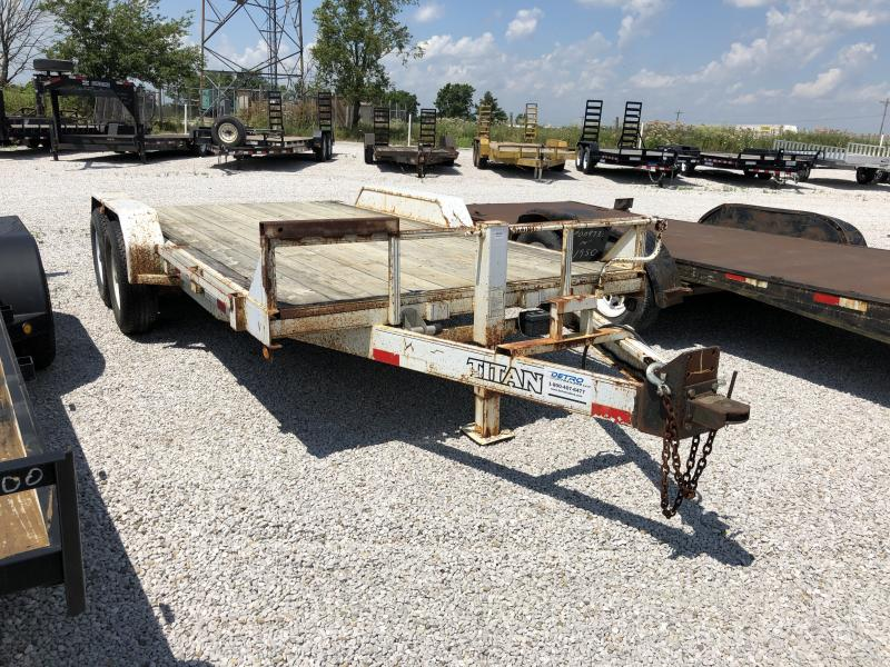 USED 1998 Other 14' Equipment Trailer