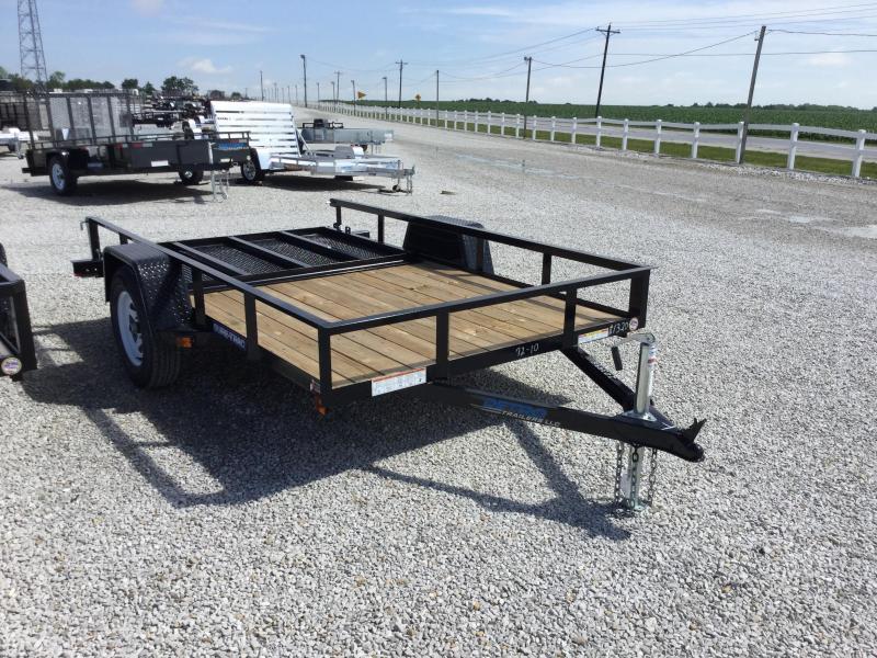 2017 Sure-Trac ST7210UA-B-030 Utility Trailer