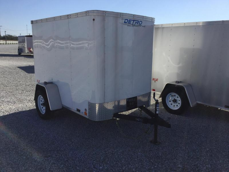 2016 United Trailers 5X8 Enclosed Cargo Trailer