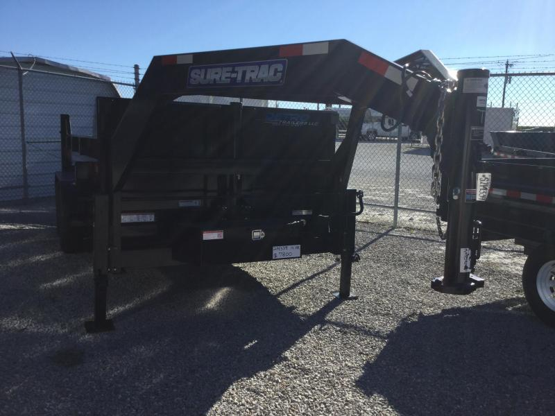 2017 Sure-Trac 82 IN X 14 LP 14K Goose Telescopic Dump