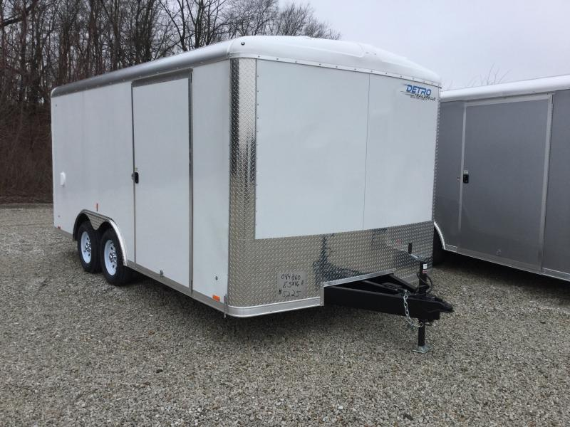 2019 Cargo Express Pro Auto Roundtop 7k Car / Racing Trailer