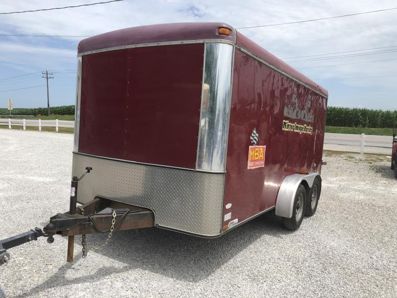 Used 2000 Southwest 7X14 Enclosed Cargo Trailer