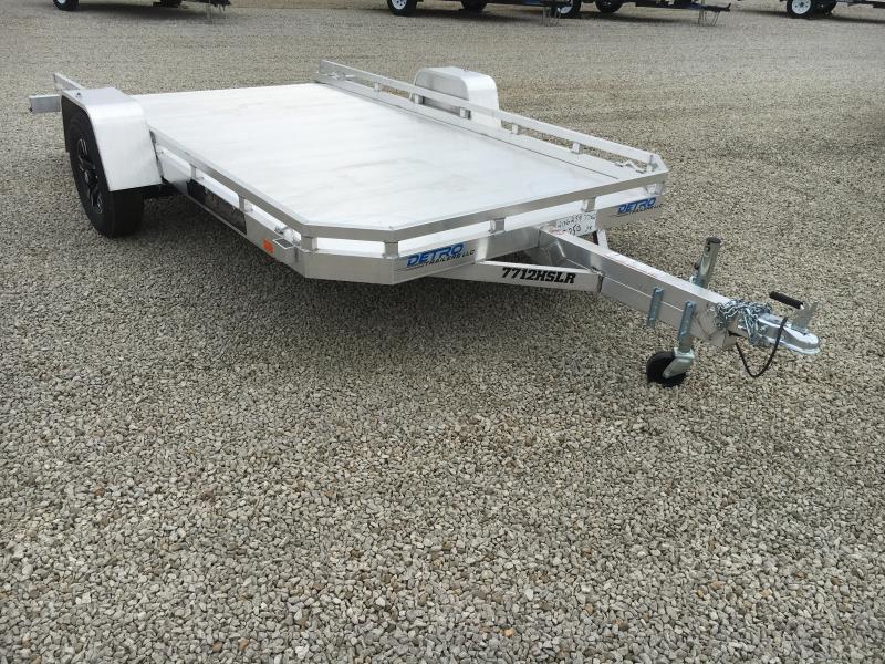 2020 Aluma 77X12 Sliding Ramp Utility Trailer