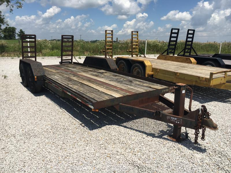 Used 1994 18' Flatbed Trailer