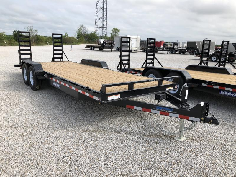 2018 Sure-Trac 7 x 22  Implement Trailer 14K