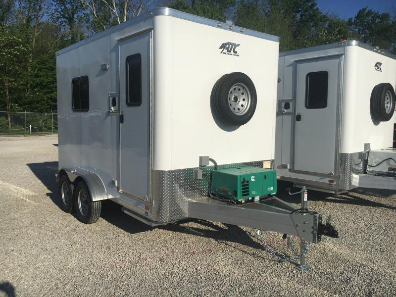 2019 ATC 7X12 FIBER OPTICS SPLICING TRAILER Enclosed Cargo Trailer