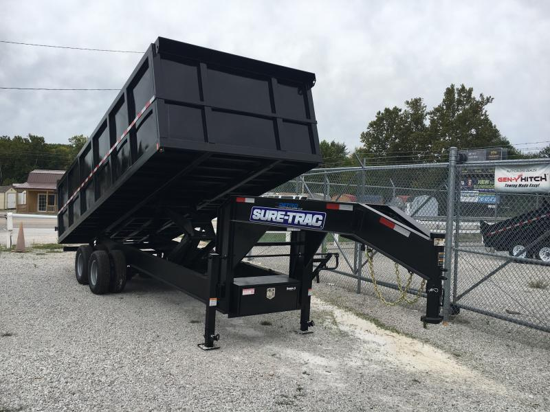 2019 Sure-Trac 96 IN x 20 DO 25.9K Goose Scissor Dump