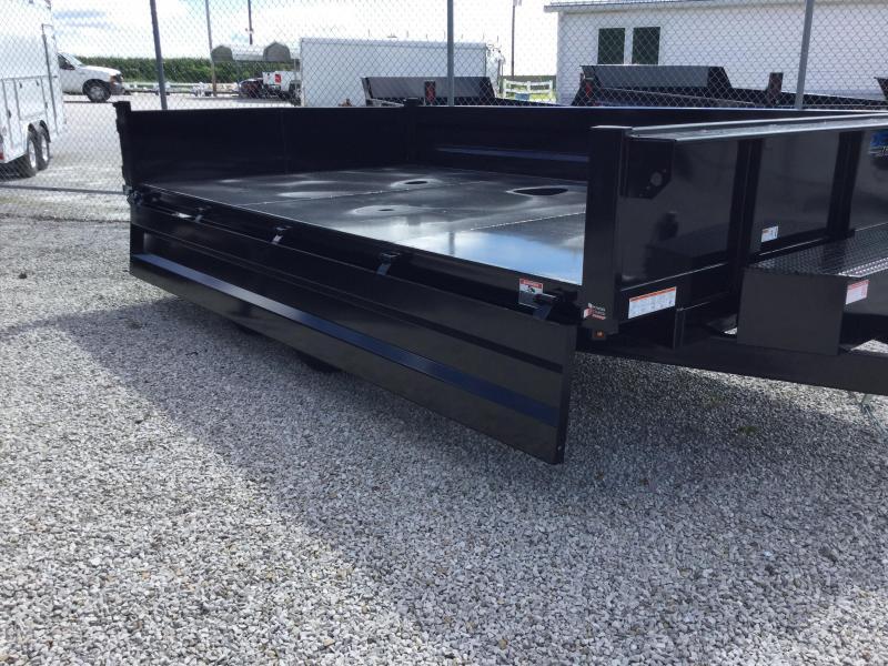 2017 Sure-Trac 96 IN x 14 Deckover 14K Scissor Dump