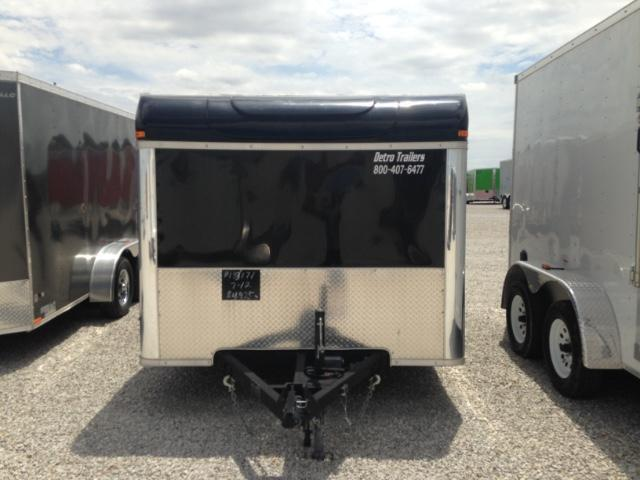 2015 United Trailers 7 x 12 Enclosed Motorcycle Trailer