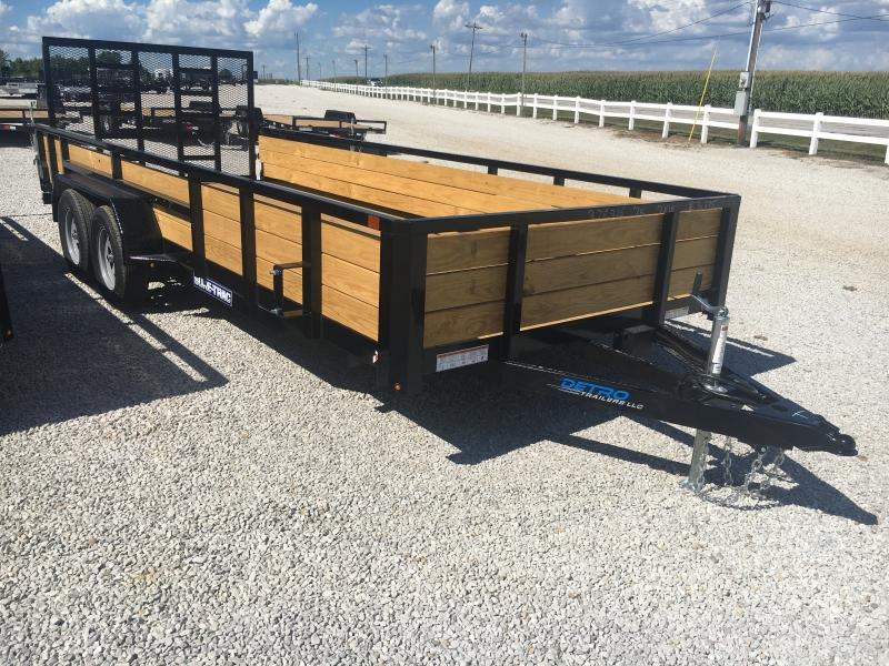 2020 Sure-Trac 7 X 18 Tube Top Three Board  7K Tandem