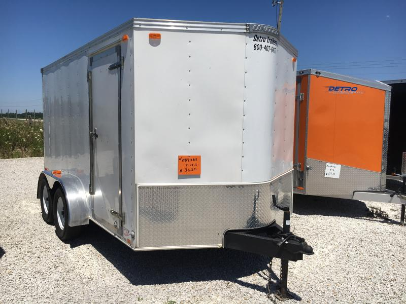 2007 United Trailers 7X12 Enclosed Cargo Trailer