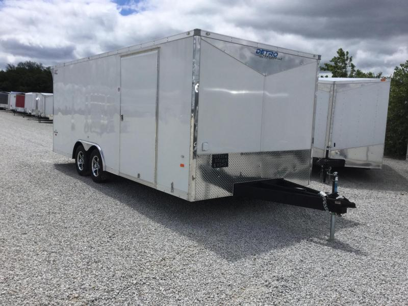 2017 American Hauler Industries 8.5X20 NIGHT HAWK Car / Racing Trailer