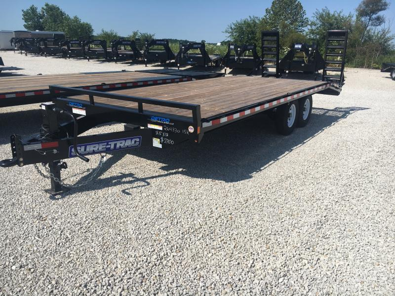2019 Sure-Trac 8.5 X 18 Ft +4 Beavertail Standard Duty