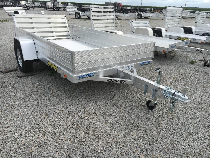 2020 Aluma 63X10 Bi-Fold Tailgate Utility Trailer
