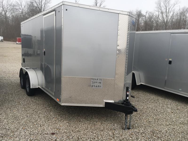 2020 Cargo Express 7X14 Cargo / Enclosed Trailer