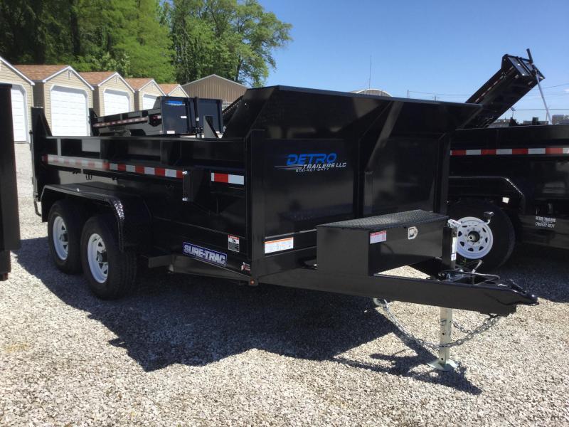 2017 Sure-Trac ST8212SDD-B-100 Dump Trailer