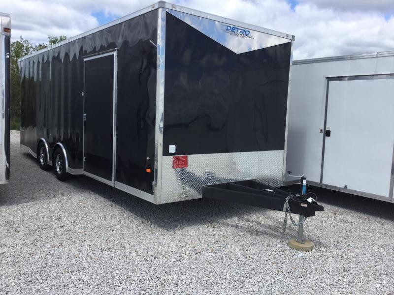 2017 American Hauler Industries 8.5X24 NIGHT HAWK Enclosed Cargo Trailer