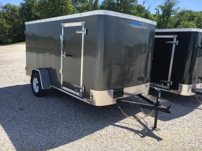 2017 United Trailers 6X12 Enclosed Cargo Trailer
