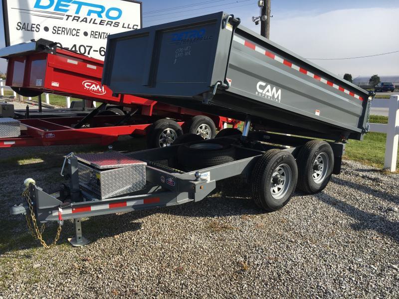 2019 Cam Superline 3 WAY DUMP Dump Trailer