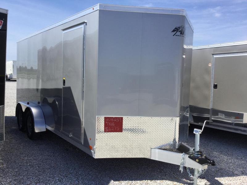 2017 ATC 7X162 RAVEN Enclosed Cargo Trailer
