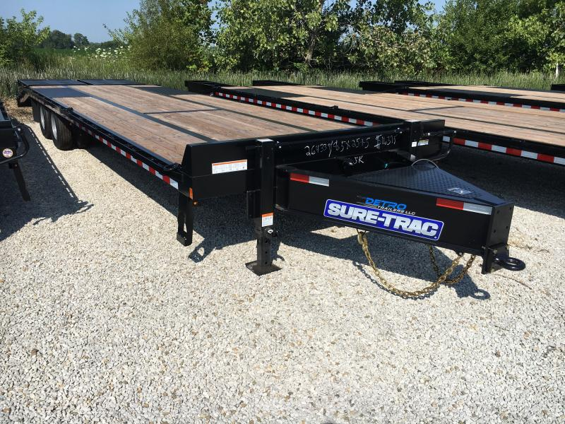 2019 Sure-Trac 8.5 X 22 Ft +4 Beavertail Standard Duty
