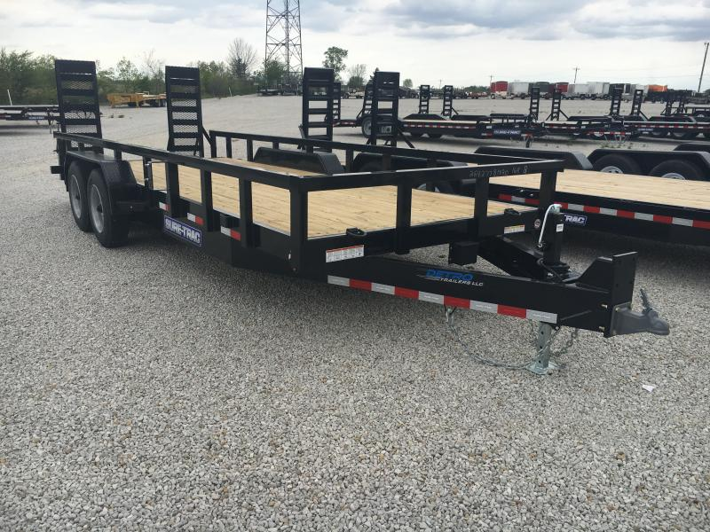 2019 Sure-Trac 7 x 20 16K Heavy Duty Equipment Trailer