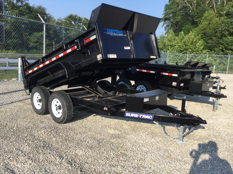 2017 Sure-Trac 72X10 Dump Trailer