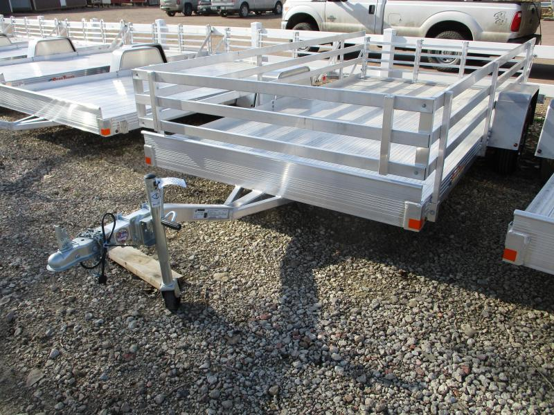 2019 Bear Track Products 76x12 Single Axle Aluminum Utility Trailer