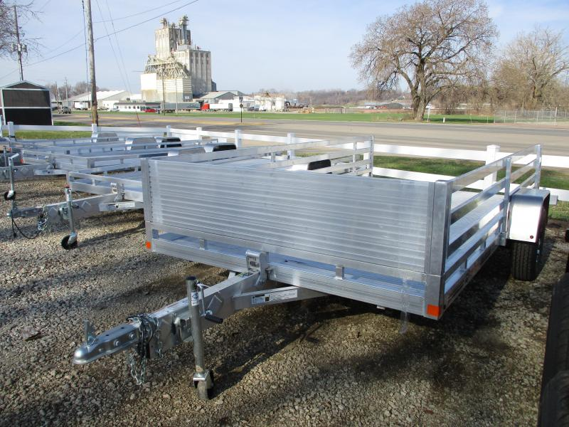 2019 Bear Track Products 76x12 Single Axle Aluminum Tilt Deck Utility Trailer